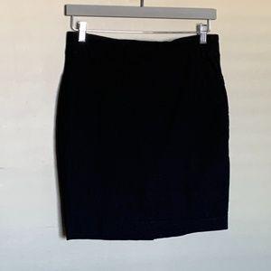 RW&co black stretch pencil skirt size large